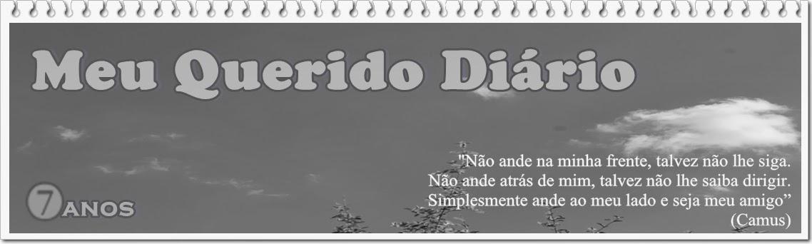 """VIII anos de """"Meu Querido Diário"""" ✍ Escrevendo & Aprendendo"""