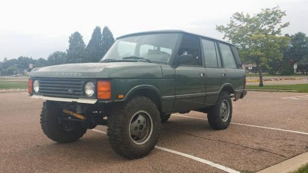 1990 range rover classic for sale 4x4 cars. Black Bedroom Furniture Sets. Home Design Ideas
