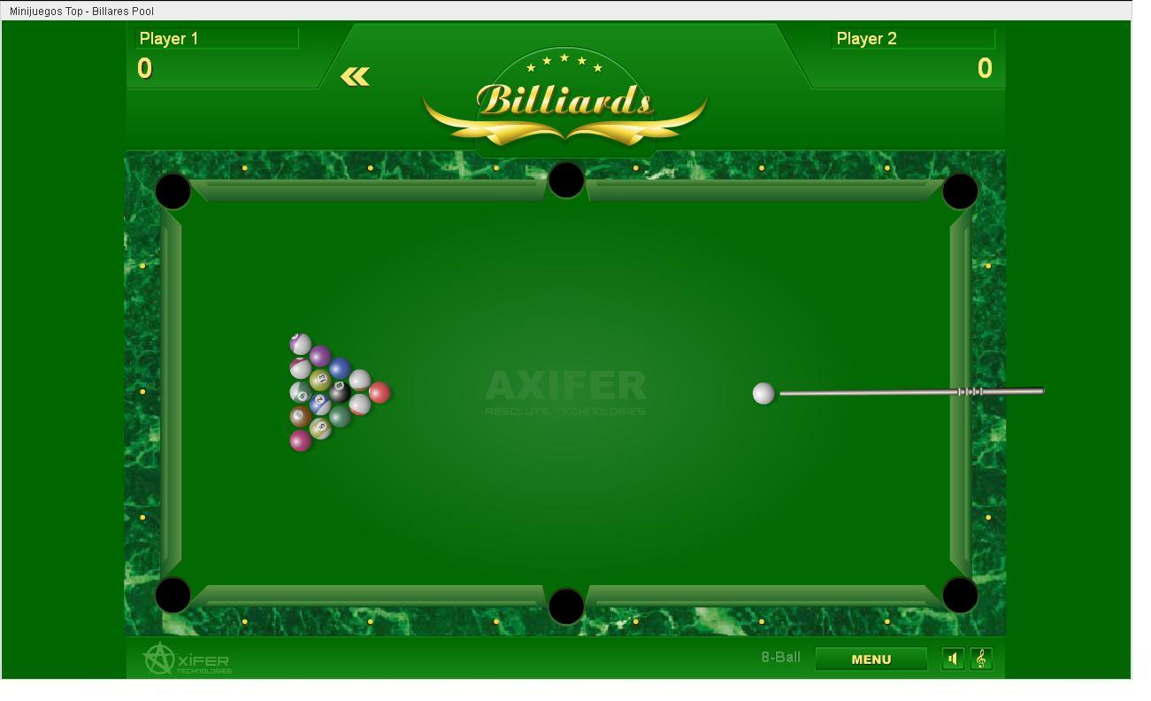juego billar pool: