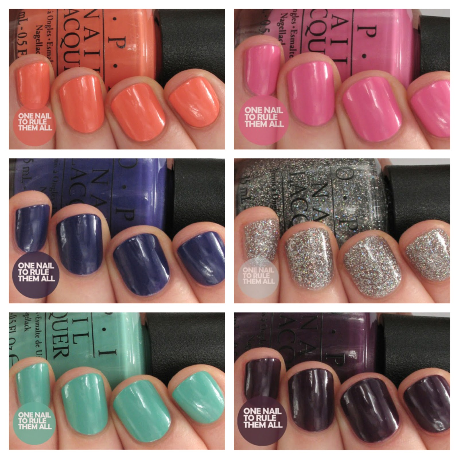 One Nail To Rule Them All: Review Week, Day 4: OPI - Nordic ...