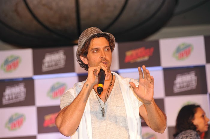 Hrithik Roshan and Katrina Kaif Launch Mountain Dew Heroes Wanted Campaign