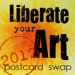 Liberate your Art 2012 Postcard Swap