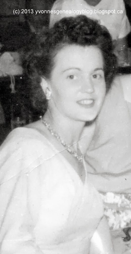Simone Burdan in about 1959