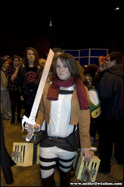 Attack on Titan cosplay at Cardiff Comic Con 2014