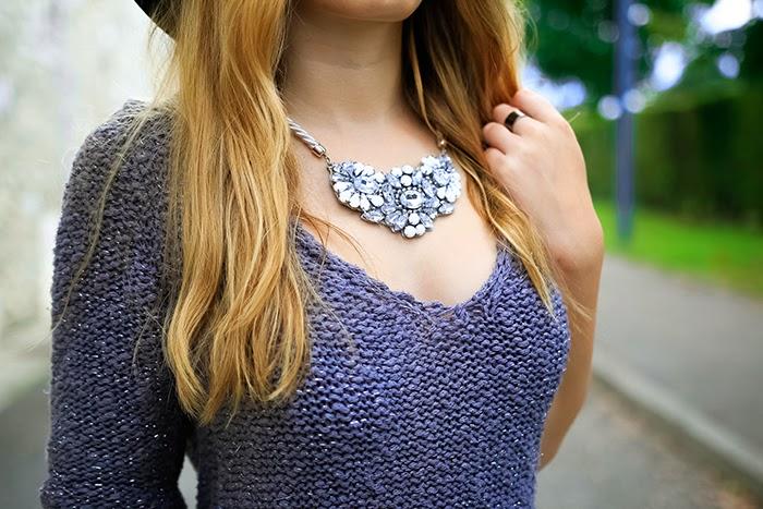 necklace white silver