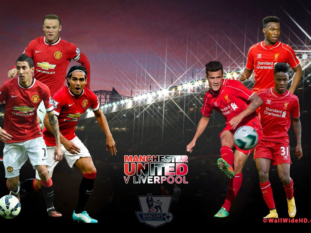 liverpool x manchester united o north west england derby
