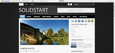 Blogger SolidStart Template