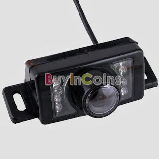 2.4G Wireless Car Reverse Rear View Backup Camera 7 IR Night Vision