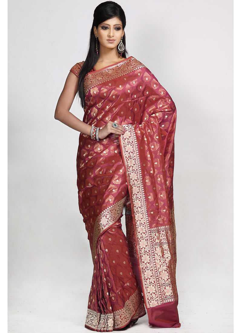 Fashion Style Baluchari Saree