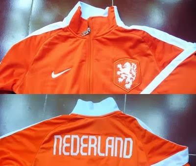 Macam-macam Jaket Belanda Untuk Piala Dunia 2014