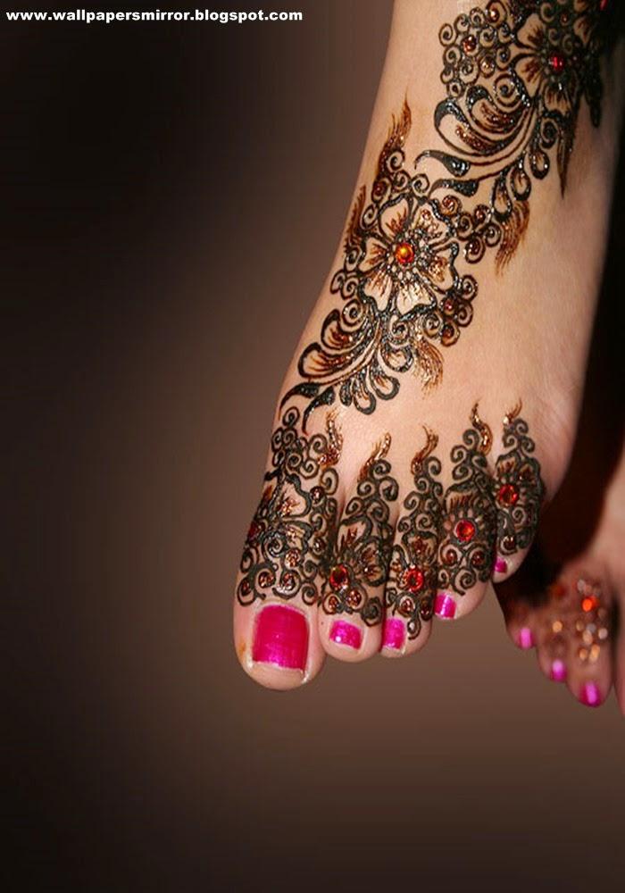 Bridal Mehndi Gallery : Latest bridal mehndi designs sri krishna wallpapers