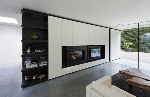 Villa Veth livingroom