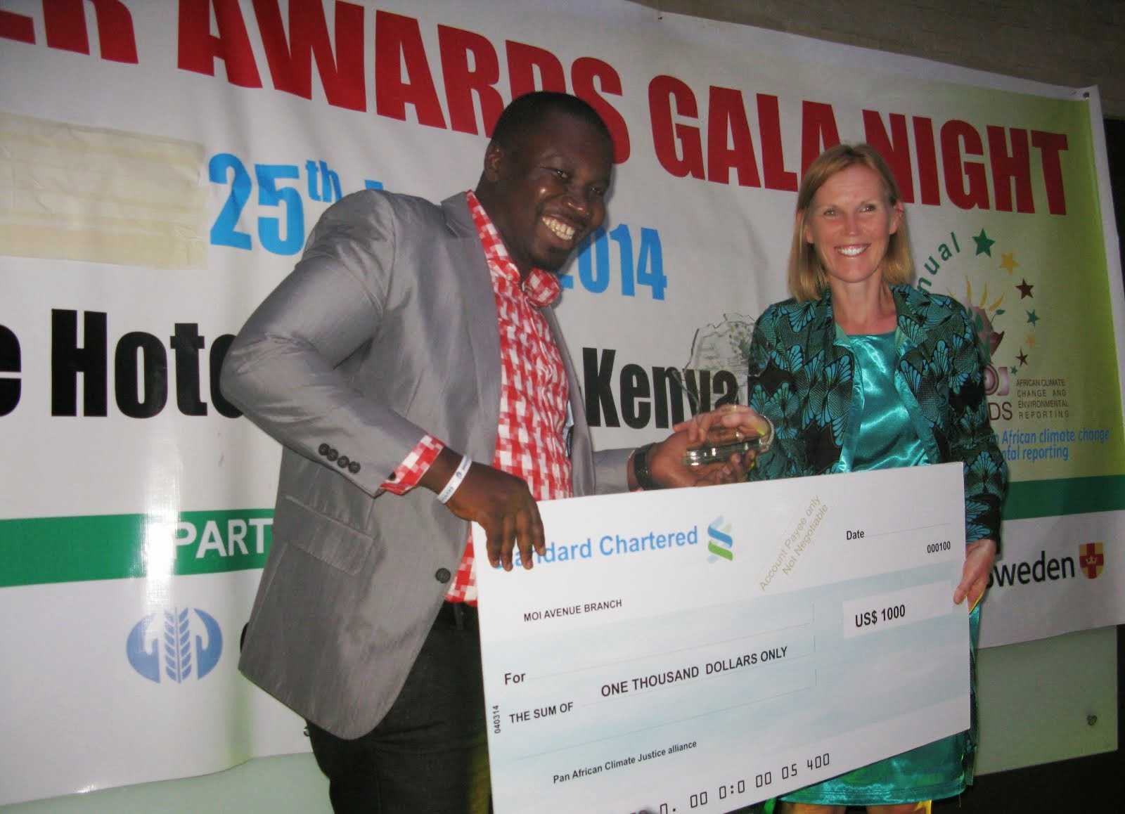 Climate Change Awards 2014 Nairobi