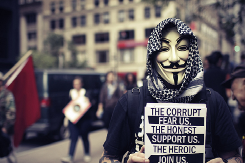 The Corrupt Fear Us - The Honest Support Us - The Heroic Join Us