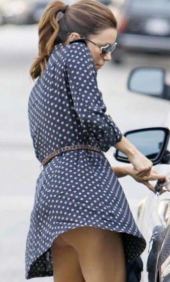 Just Celebrity Picture: Paparazzi Shots, Eva Longoria Looks Butt