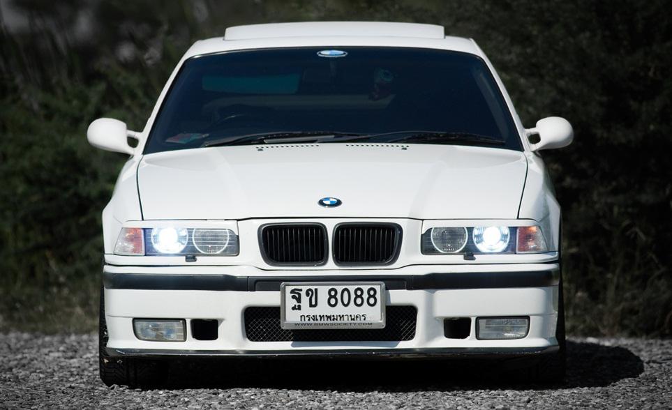 Bmw E36 White