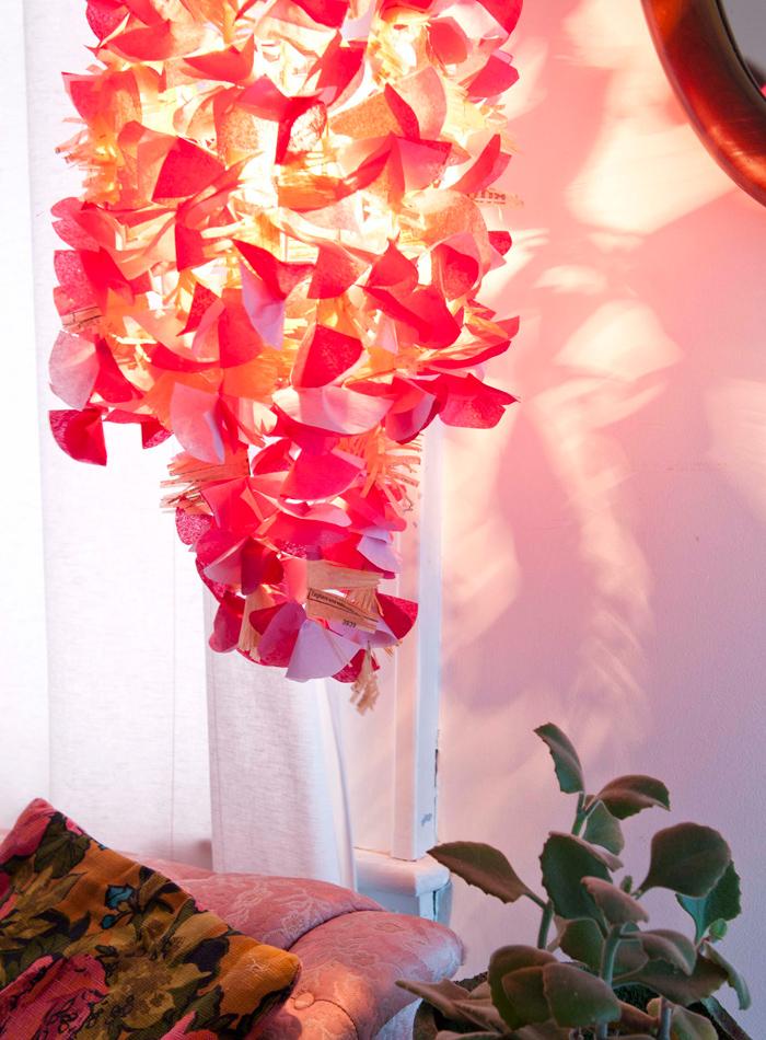 Diy flowering chandelier book giveaway poppytalk from sweet paper crafts by mollie greene aloadofball Images