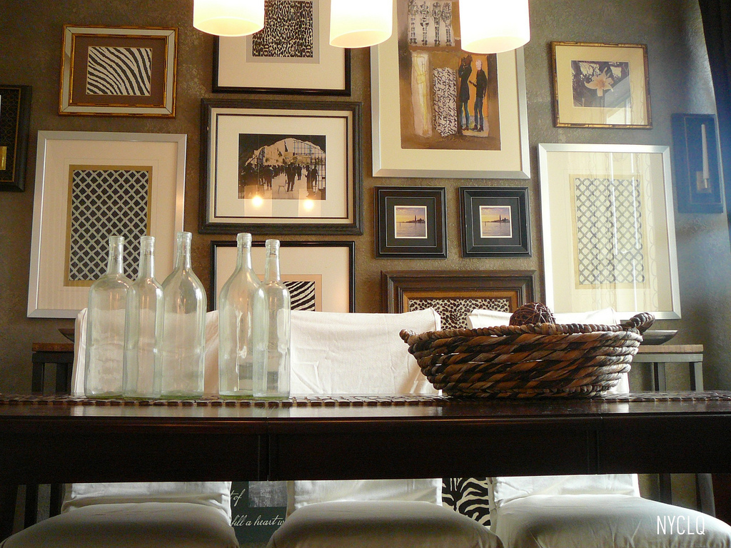 FOCAL POINT STYLING: How To Make A No Template Gallery Wall