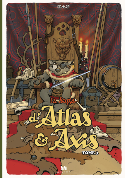 La Saga d'Atlas & Axis, tome 3