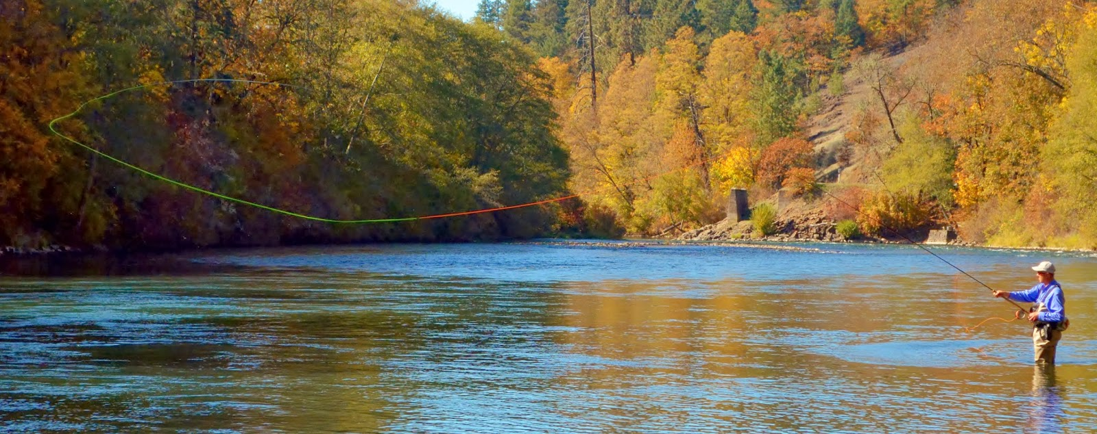 Rogue river and southern oregon fly fishing guide october for Rogue river oregon fishing