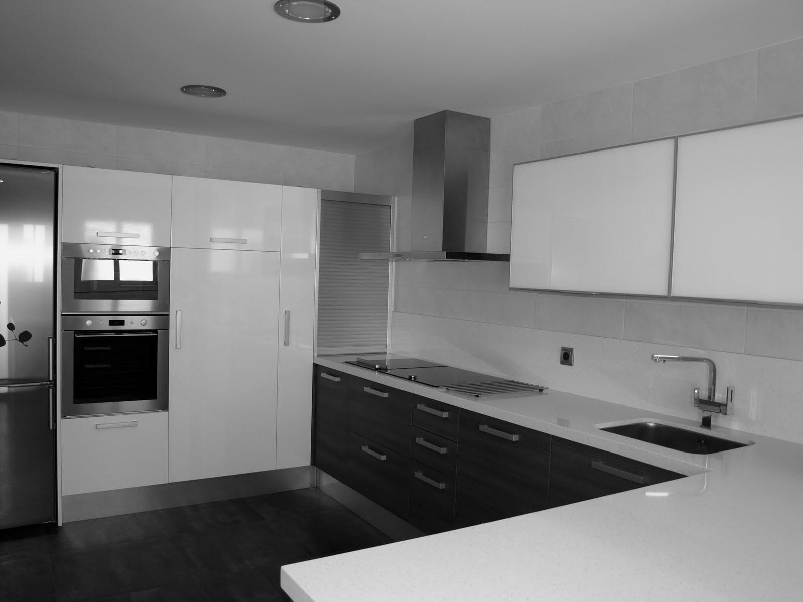 Espai decuina ripollet barcelona junio 2011 - Cocinas blancas y gris ...