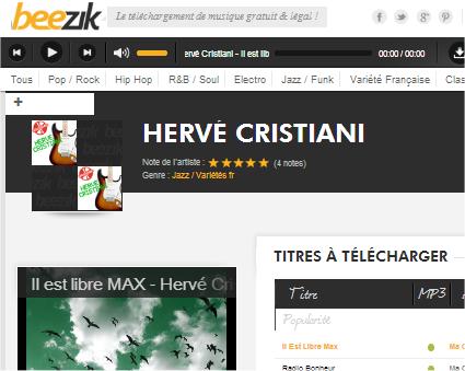 capture d'écran Beezik