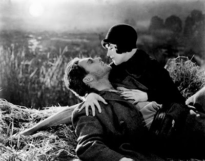 George O'Brien and Margaret Livingston in Sunrise