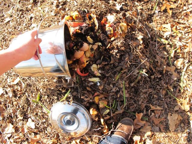 nwafoodie compost pail gardening northwestarkansas