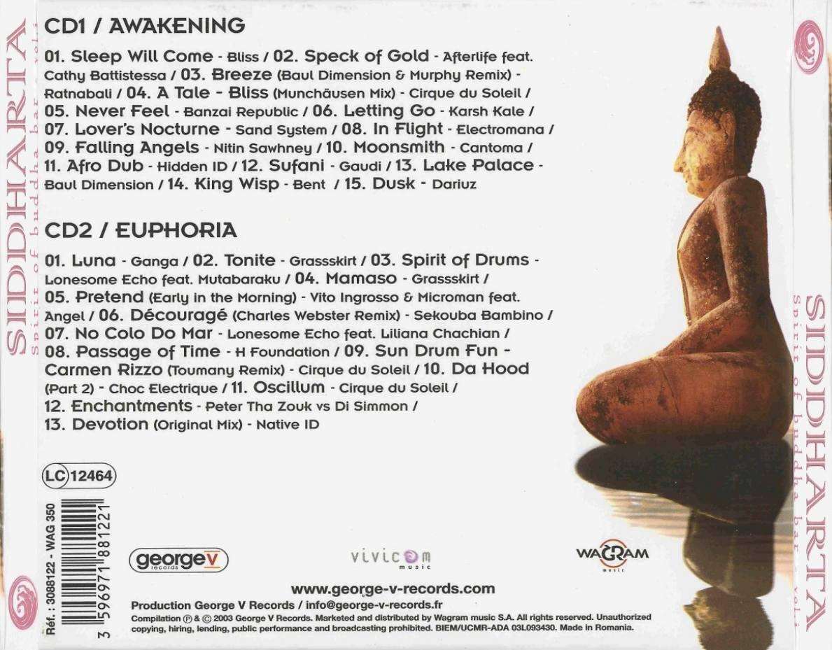 siddharta spirit of buddha bar vol 2