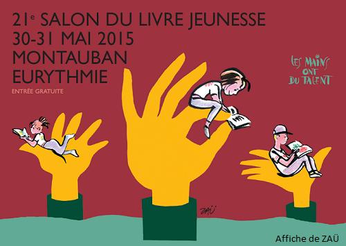 Enora conte le salon du livre jeunesse de montauban 2015 for Salon du chocolat montauban