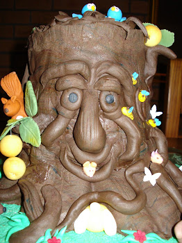 Fairy Tree Cake