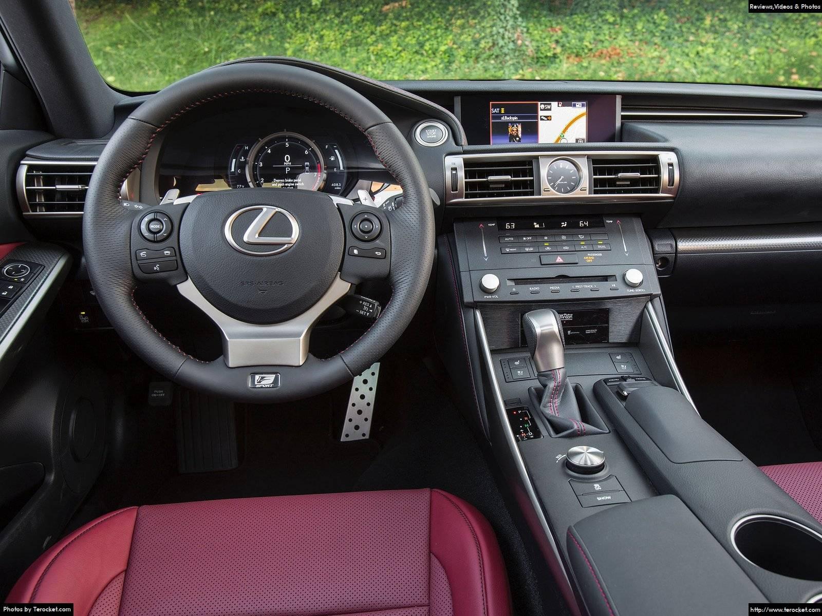 Hình ảnh xe ô tô Lexus IS F-Sport US-Version 2016 & nội ngoại thất