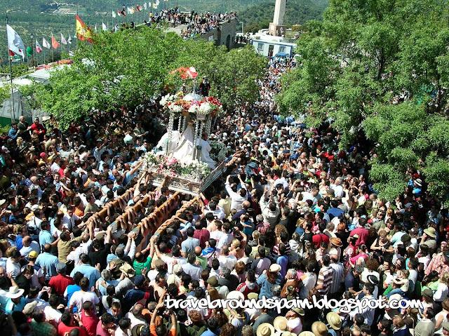 Travel around Spain - Andujar, the oldest pilgrimage in Spain