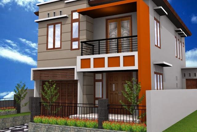 home design interior singapore: Renovasi Rumah Type 36 \/ 72 Menjadi 2 Lantai Desain Denah Minimalis