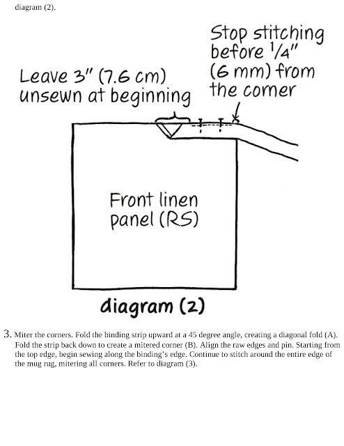 Animal Mug Rug