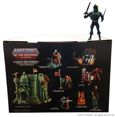 Mattel Matty Collector Masters of the Universe Classics Castle Grayskull Box