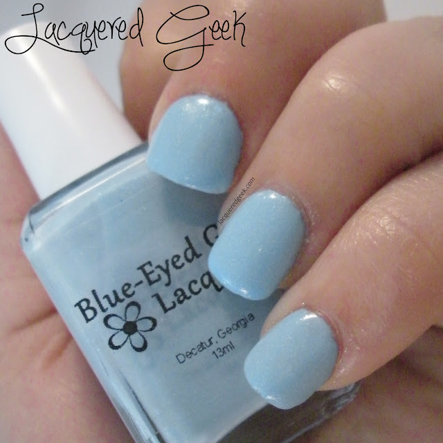 Sewing Shadows from Blue-Eyed Girl Lacquer swatch