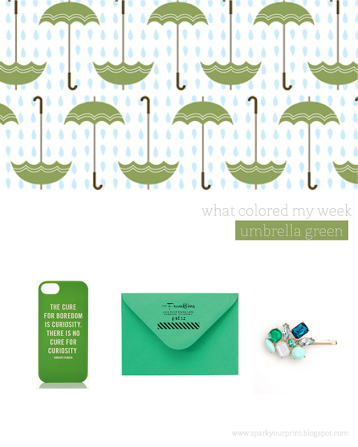green color inspiration board I mariana hodges for sparkyourprint.blogspot.com
