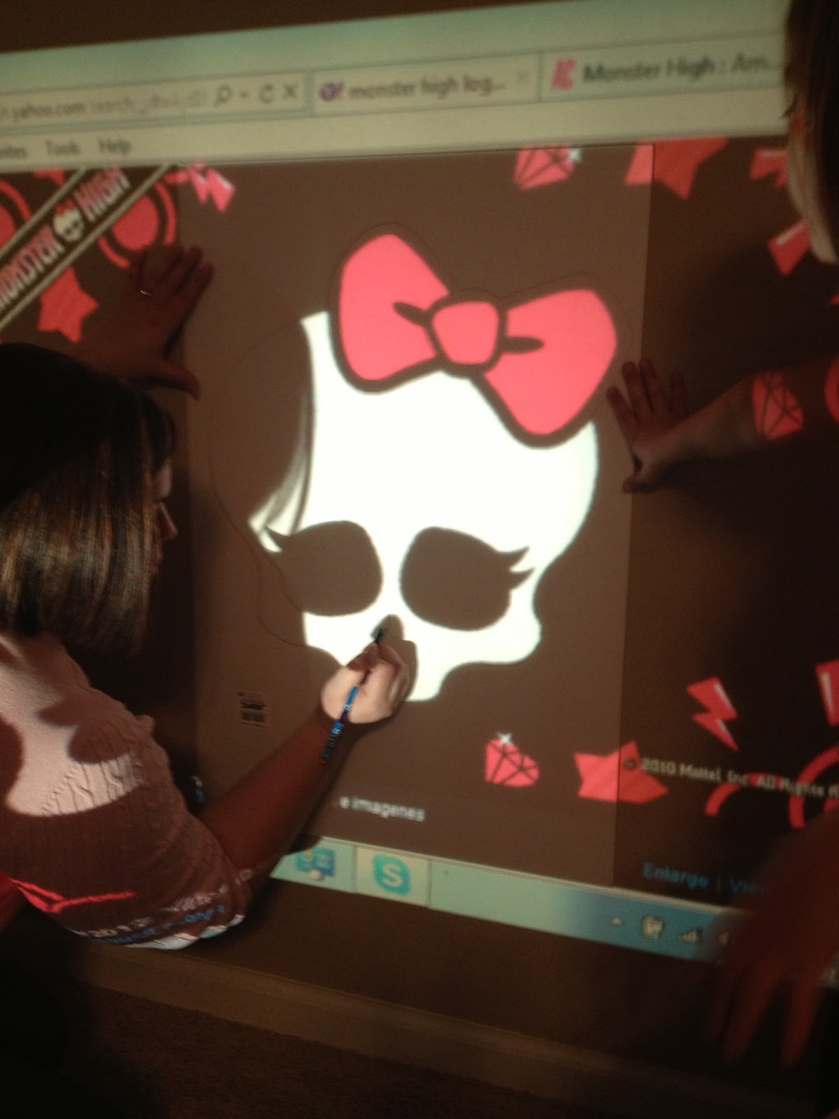 The Busy Broad: Monster High Party Decorations