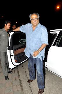 Katrina Kaif, Sanjay, Preity & Karisma spotted at Salman's Eid bash