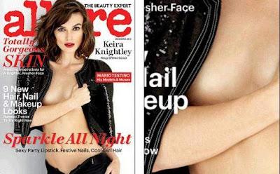 Puting Payudara Keira Knightly 'Bersembunyi' di Majalah Allure