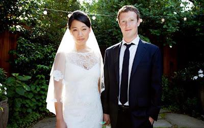 Mark Zuckerberg Pemilik Facebook Menikah