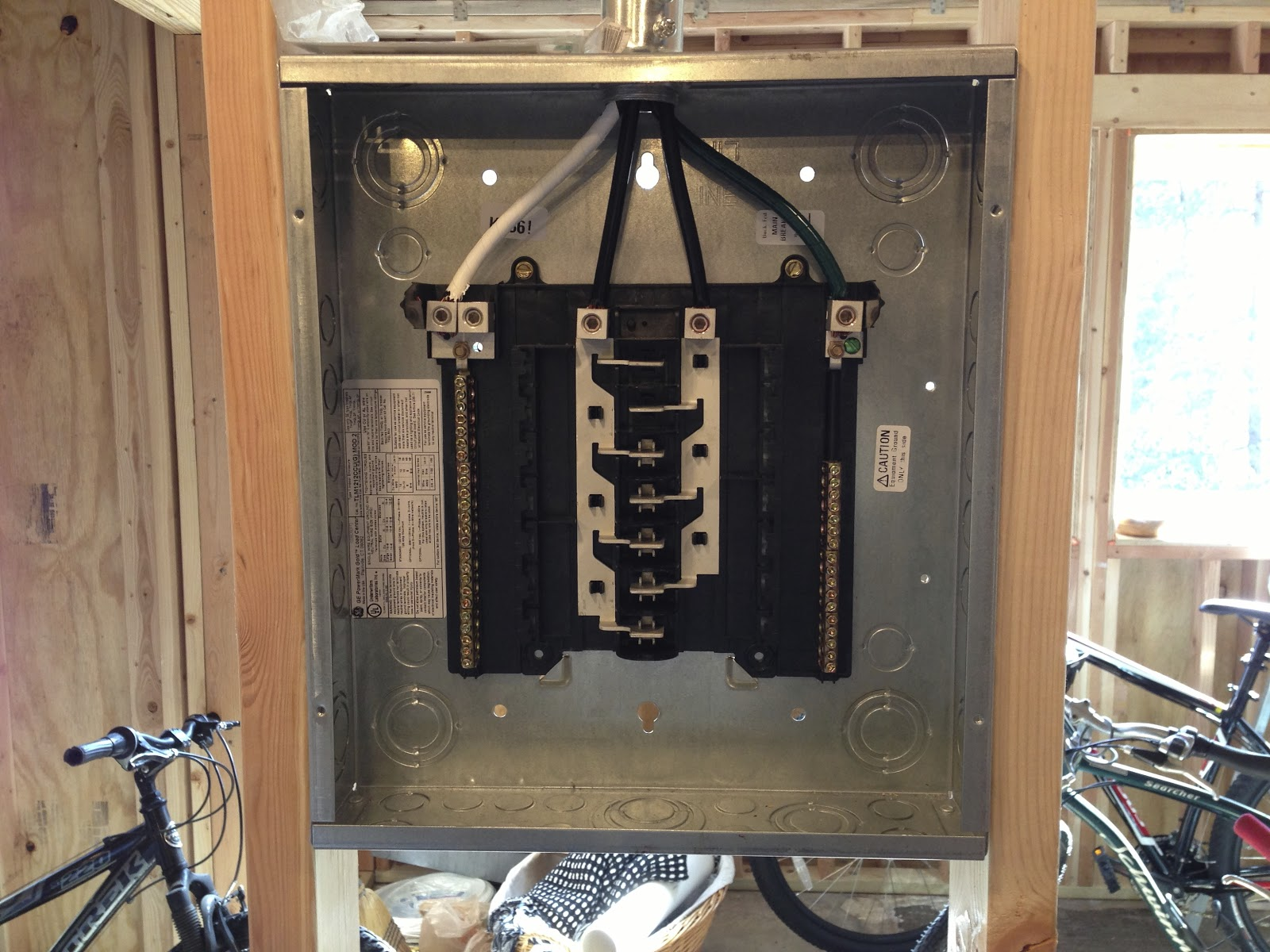 Quick Update Wiring My Sub Panel Steves Remodel A Subpanel To Kitchen Post The Main