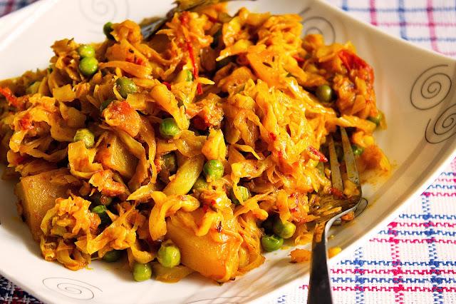 bengali style bandhakopir ghonto recipe