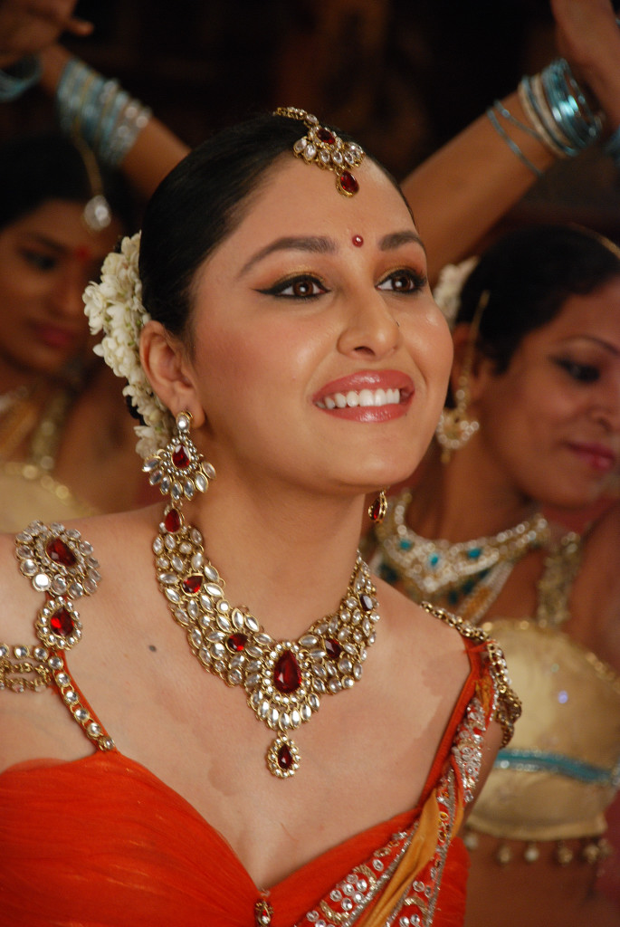 Pooja Chopra with Jewellery