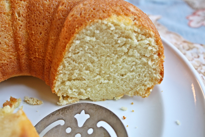 Crumb texture of this cake is almost like a pound cake's but is very ...