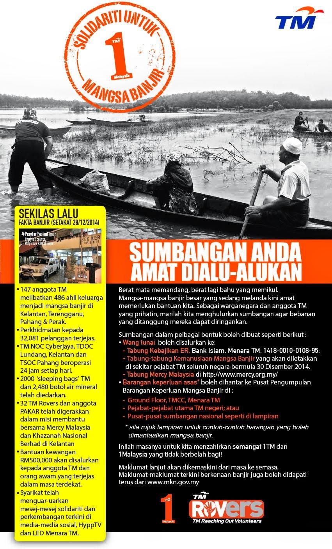 Solidariti Untuk Mangsa Banjir: Sumbangan Anda Amat Dialu-alukan!