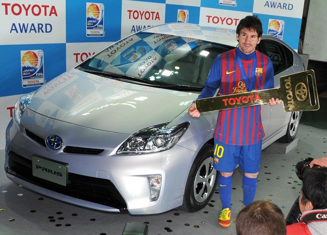 سيارات ليونيل ميسي ( مجموعة رائعة ) ... Lionel-Messi-Toyota-