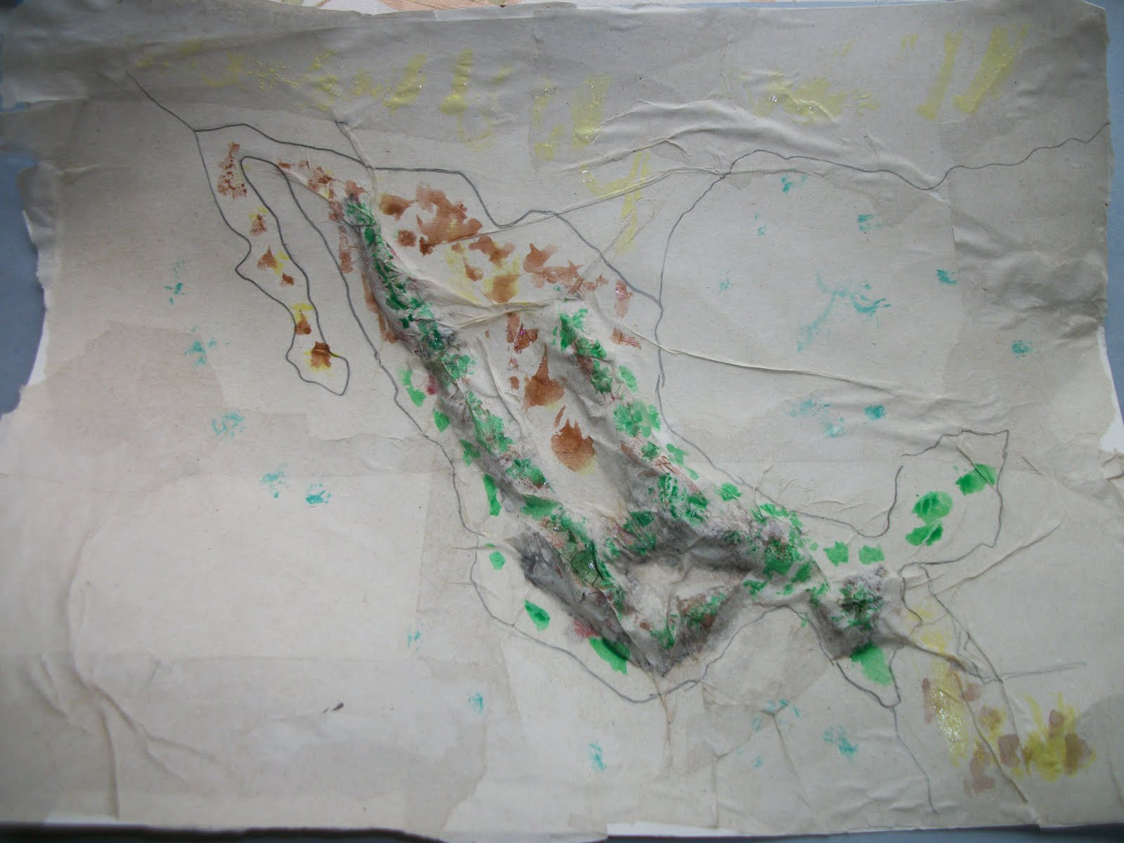 then the kids began filling in the color using watercolor paints this was my favorite step since luke 4 1 2 reese 6 and brianna all could participate