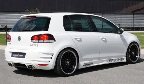 Kerscher Bodykit For Vw Golf Vi Best Hd Car Wallpaper
